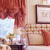 Австрийская штора для гостиной