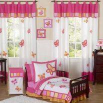 Детские шторы с бабочками