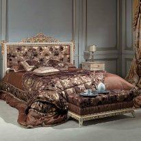 Элитные гардины для спальни
