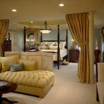 Элитные шторы для спальной комнаты