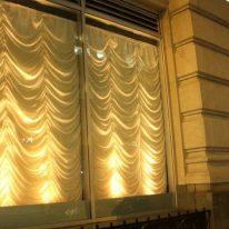 Французские шторы для фасада