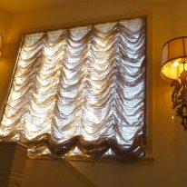 Французские шторы из органзы