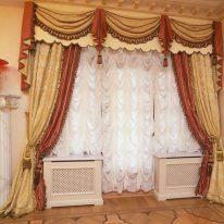 Французские шторы, ламбрекен и портьеры