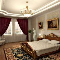 Классические шторы для городской квартиры