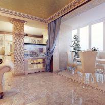 Классические шторы в итальянском стиле