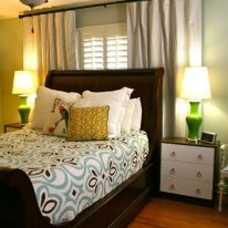 Красивые занавески для спальни