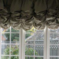 Плотные австрийские шторы
