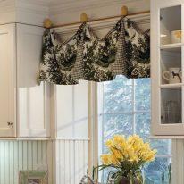 Плотные занавески для кухни