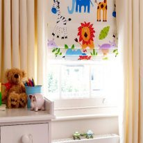 Римские шторы для детской