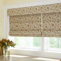 Римские шторы на маленькие окна