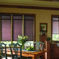 Рулонные шторы для столовой комнаты