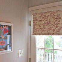 Рулонные шторы на двери
