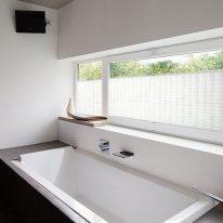 Тканевые жалюзи в ванной