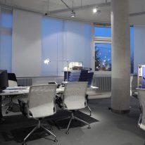 Японская штора для офиса