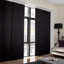 Японские шторы из плотной ткани