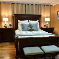 Елітні штори для спальні
