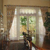 Французькі штори для дверей
