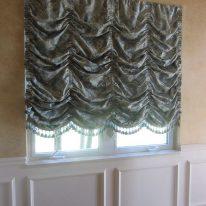 Французькі штори з щільного текстилю