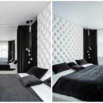 Гардини і портьєри для спальні