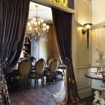 Гламурні класичні штори