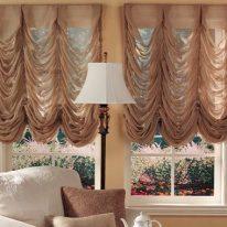 Класичні французькі штори