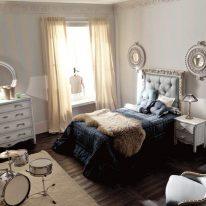 Класичні штори для дитячої спальні