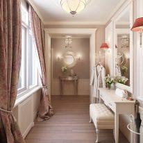 Класичні штори для вітальні кімнати