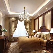 Класичні штори з орнаментом