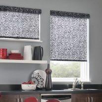 Красиві рулонні штори