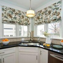 Модні штори для кухні