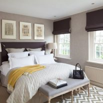 Римські штори для спальні