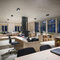 Штори для великого офісу