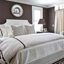 Штори і ламбрекен для спальні