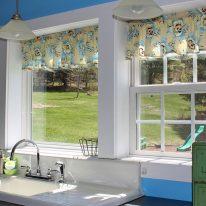 Стильні штори для кухні