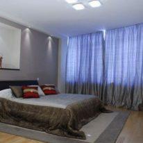 Сучасні штори для спальні