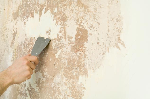 підготовка стін до обклеювання шпалер