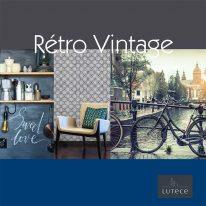 Шпалери Lutece Retro Vintage - фото