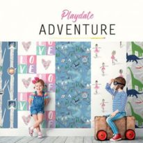 Шпалери KT Exclusive Playdate Adventure - фото