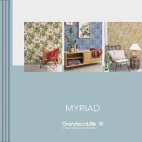 Шпалери Grandeco каталог Myriad