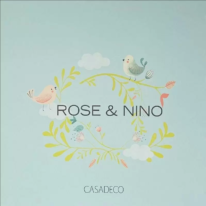 Шпалери Casadeco Rose & Nino - фото