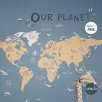 Шпалери Caselio Our Planet - фото