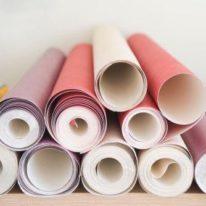 Комбинирование обоев на стены: правила и варианты