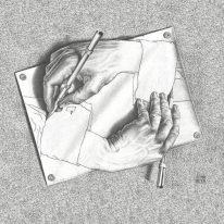 Обои Sirpi M.C. Escher 23185 - фото
