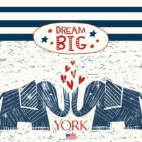 Обои York Dream Big - фото