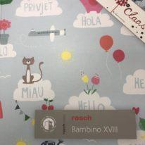 Обои Rasch Bambino XVIII - фото