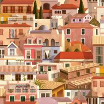 Обои Coordonne Mallorca 8400050 - фото