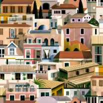 Обои Coordonne Mallorca 8400052 - фото