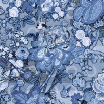 Обои Arte Moooi Wallcovering Tokyo Blue MO3012 - фото