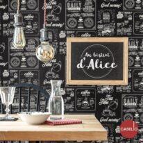 Обои Caselio Au Bistrot d'Alice - фото