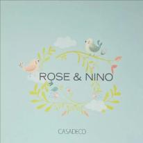 Обои Casadeco каталог Rose & Nino